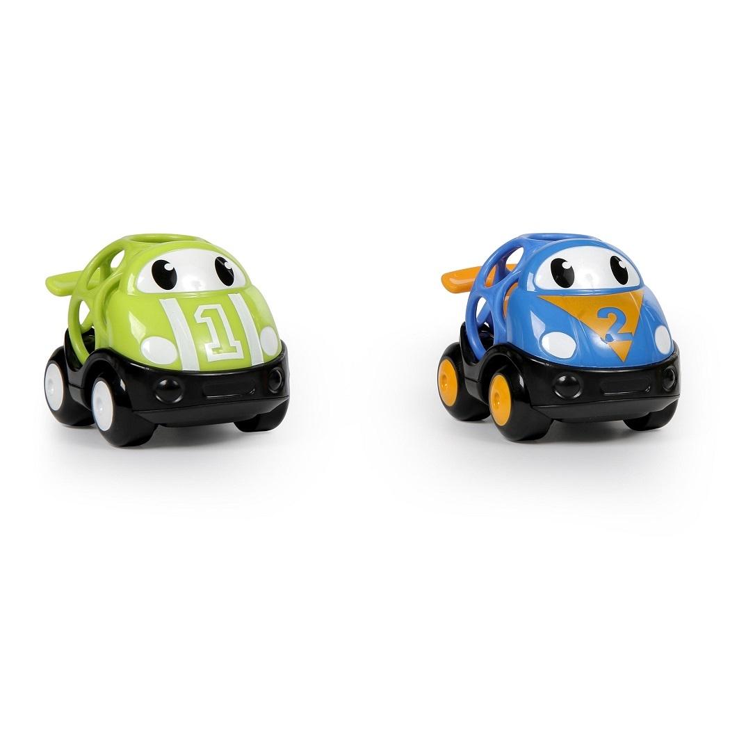 Oball Hračka autíčko závodní Herbie a Tom Oball Go Grippers 18m+, 2ks
