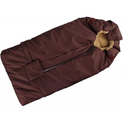 KAARSGAREN-Fusak hnědo-béžový s fleece podšívkou