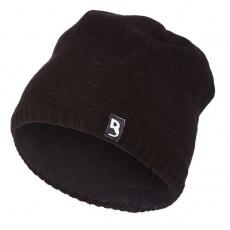 Little Angel-Čepice pletená hladká Outlast ® - černá Velikost: 4 | 45-48 cm