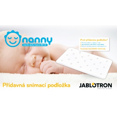 Jablotron-Náhradní podložka k monitoru dechu NANNY BM-02