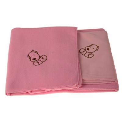 KAARSGAREN-Sada dvou dek s pejskem růžová