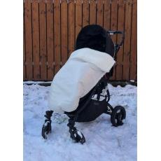 KAARSGAREN-Béžová zimní deka merino nepadací