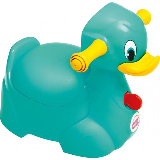 OKBABY Nočník Quack tyrkysová 72