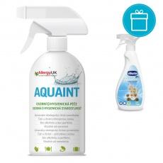 CHICCO Odstraňovač skvrn Sensitive, 500 ml + AQUAINT 500 ml