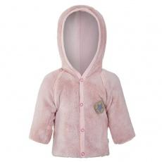 Little Angel-Kabátek MAZLÍK Outlast® - pudrová/sv.pudrová Velikost: 80