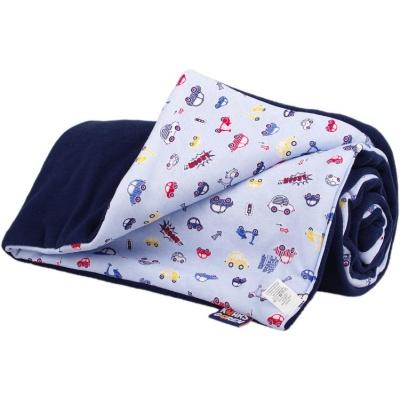 KAARSGAREN-Zateplená dětská deka tmavomodrá autíčka