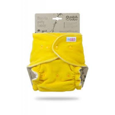 Petit Lulu-Žlutá maxi/noční plena pat
