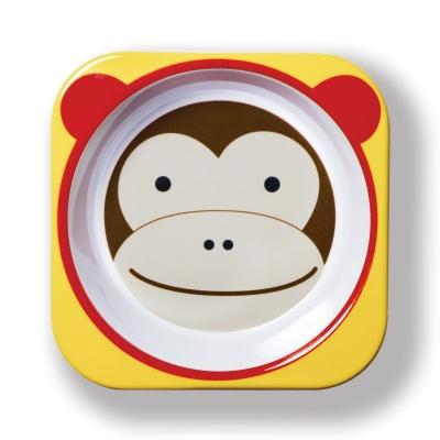Skip Hop Zoo Miska - Opička 6m+
