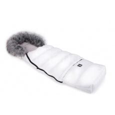 Cottonmoose-Fusak zimní combi bílý, kožich