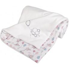 KAARSGAREN-Zateplená dětská deka bílá myšky