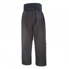 Little Angel-Kalhoty softshell tenké - černá Velikost: 128