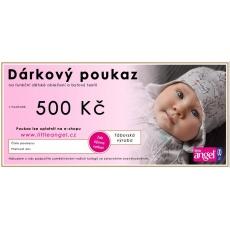 Little Angel-Dárkový šek 500,- Kč