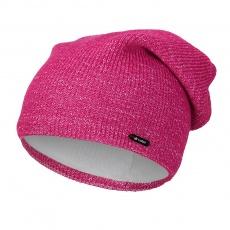 Little Angel-Čepice pletená UNI Outlast ® - růžová Velikost: 4 | 45-48 cm