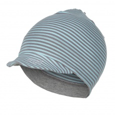 Little Angel-Kšiltovka smyk Outlast® - pruh mentolový Velikost: 6 | 54-57 cm