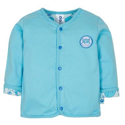 Gmini PRIMA-kabátek LIŠKA A modrá 086