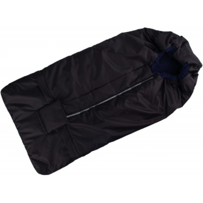 KAARSGAREN-Fusak černo-tmavomodrý s fleece podšívkou