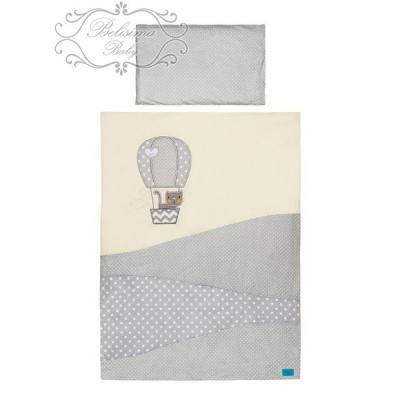 Belisima-2-dílné ložní povlečení Balón 100/135 béžové