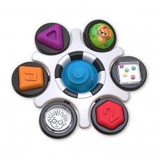 BABY EINSTEIN Hračka senzorická Curiosity Clutch ™ 3m +