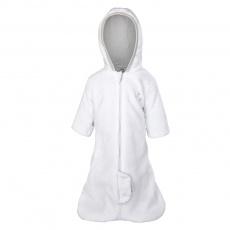 Little Angel-Zimní pytel MAZLÍK Outlast® - bílá/sv.šedá Velikost: 50