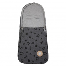 Little Angel-Fusak tenký Outlast® - šedý melír hvězda/šedý melír