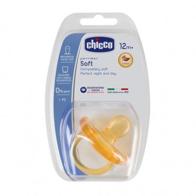 Chicco Šidítko Physio Soft celokaučukové 16-36m