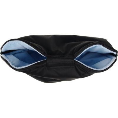 KAARSGAREN-Nový rukávník na kočárek černo modrý