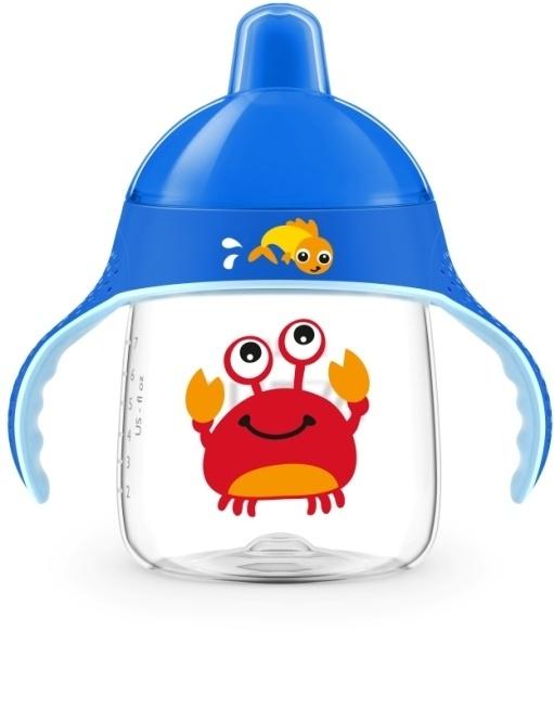 Philips AVENT Hrneček pro první doušky Premium 260 ml krab
