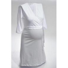 NIKA Košile noční NIKA INTIMA 038 stříbrno-bíla S