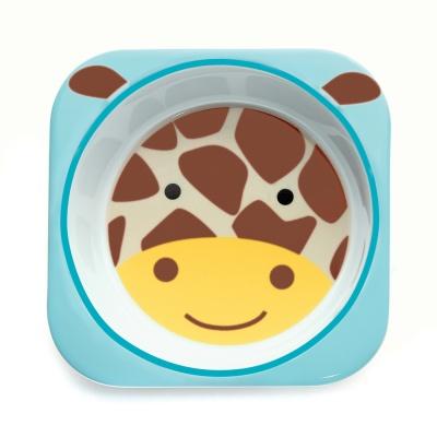 Skip Hop Zoo Miska melaminová Žirafa 6m+