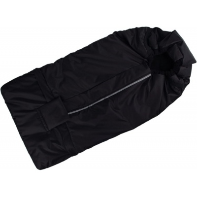 KAARSGAREN-Fusak černo-černý s fleece podšívkou