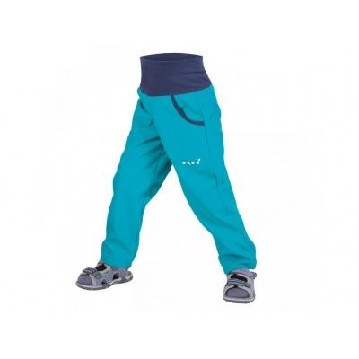 UNUO-NEW softshellové kalhoty bez zateplení-aqua