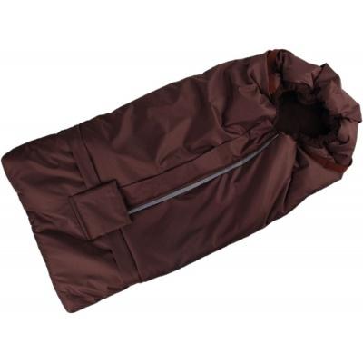 KAARSGAREN-Fusak hnědo-hnědý s fleece podšívkou
