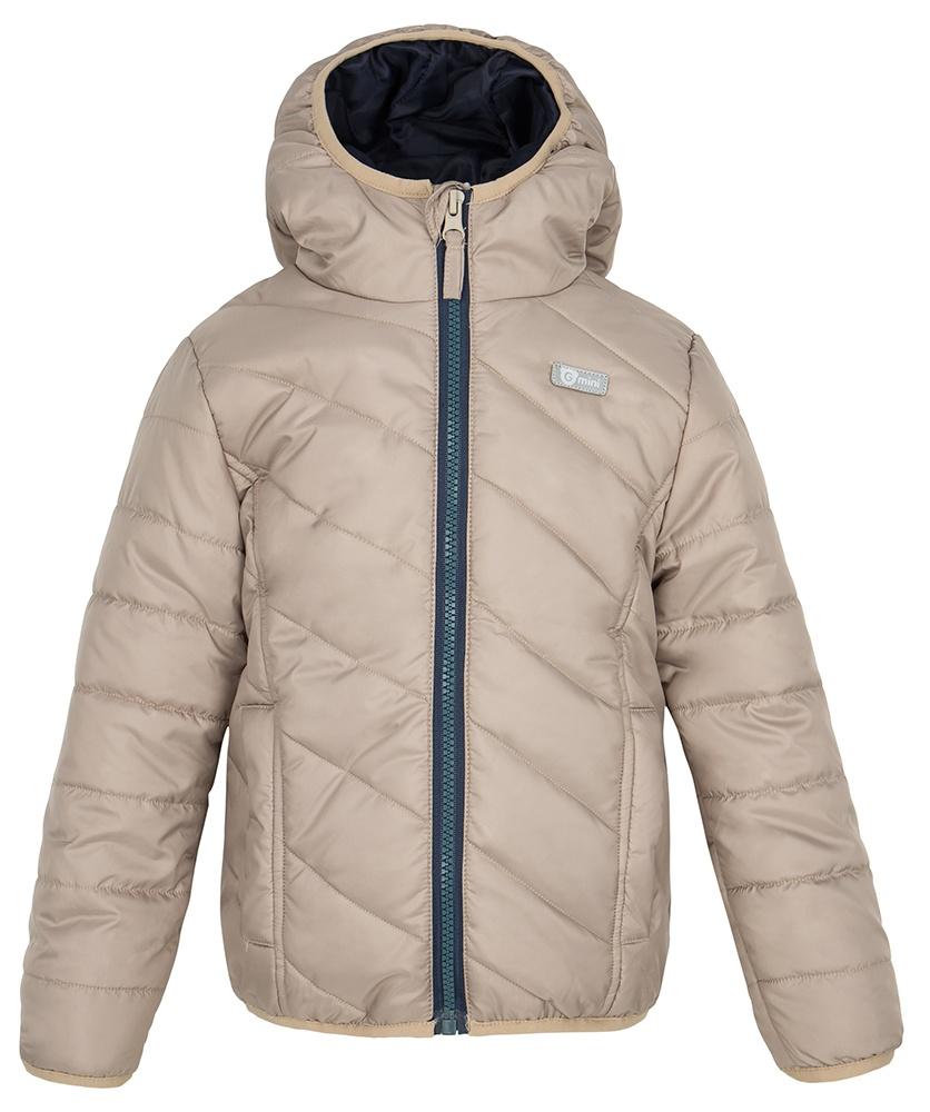 Gmini GORKY-bunda s kapucí béžová 134/140