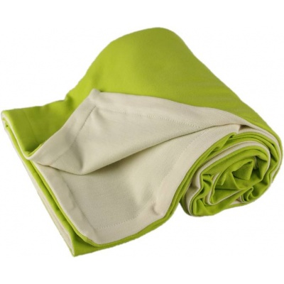 KAARSGAREN-Dětská merino deka zelená