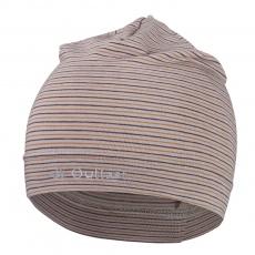 Little Angel-Čepice tenká pruh Reflex Outlast® - pruh sv.hnědomedový Velikost: 2 | 39-41 cm