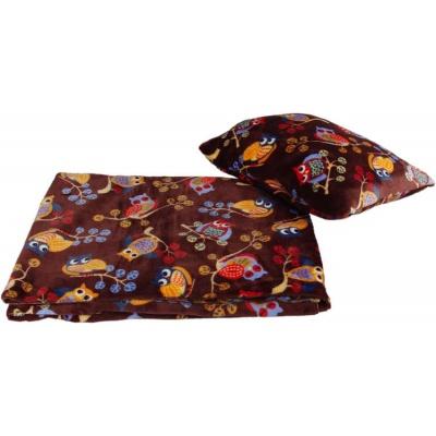 KAARSGAREN-Velká deka s polštářem sovy
