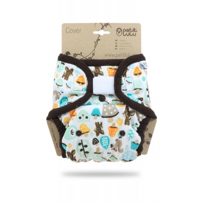 Petit Lulu-Svrchní kalhotky jednovelikostní-Houbičky