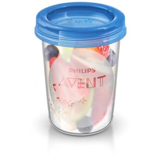 Philips AVENT VIA pohárky s víčkem 240 ml, 5 ks