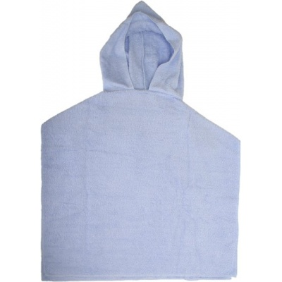 KAARSGAREN-Froté pončo modré