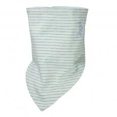Little Angel-Šátek tenký oboustranný Outlast® - pruh sv.zelenožlutý/sv.zelená Velikost: uni