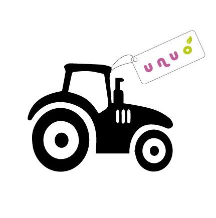 UNUO-Nažehlovací traktůrek 6,5x5,5 cm