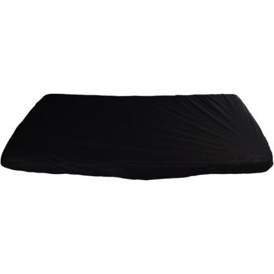 KAARSGAREN-2v1 Černé prostěradlo 70x160cm a chránič matrace