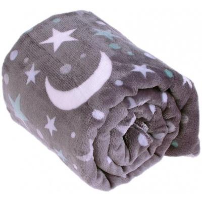KAARSGAREN-Deka Flanel fleece noční obloha 70x100cm