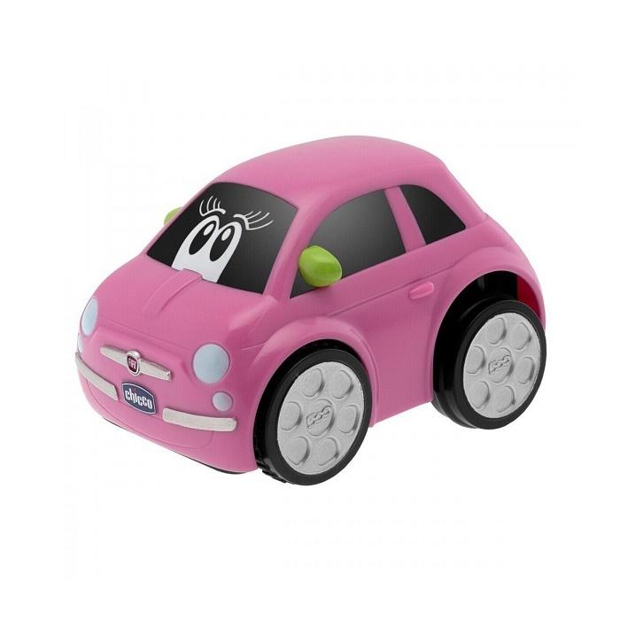 Chicco Hračka autíčko Turbo Touch - FIAT 500 Růžová