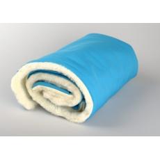 KAARSGAREN-Zimní deka tyrkysová merino softshell