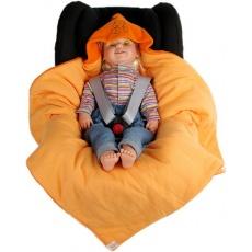 KAARSGAREN-Zimní zavinovačka oranžová pejsek doprodej