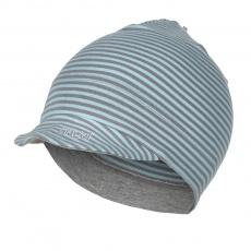 Little Angel-Kšiltovka smyk Outlast® - pruh mentolový Velikost: 4 | 45-48 cm