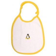 KAARSGAREN-Bryndáček s tučňákem žlutý lem