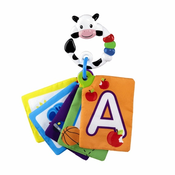 Baby Einstein Karty zábavně-vzdělávací textilní Take Along Discovery Cards™ písmená 0m+