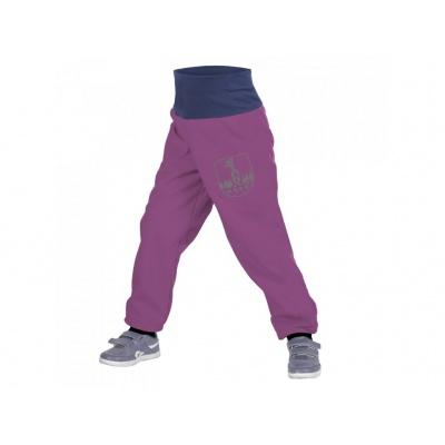 UNUO-Batolecí softshellové kalhoty s fleecem ostružinové+ REFLEXNÍ OBRÁZEK EVŽEN
